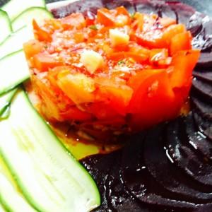 tartare di pomodoro