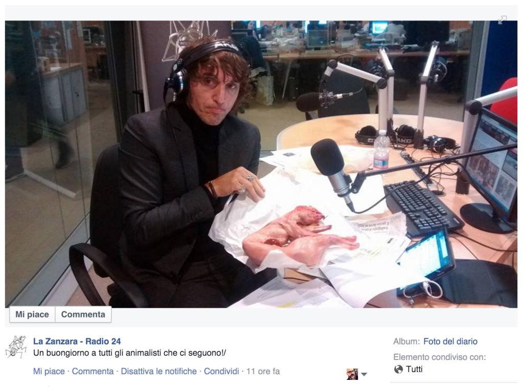 I meravigliosi contributi che Radio24 propone al proprio pubblico sui social media